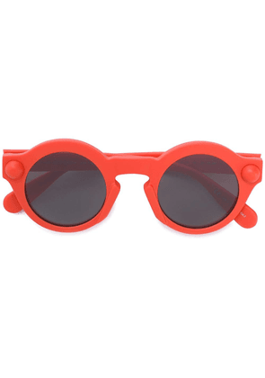 Christopher Kane Eyewear round-frame sunglasses - Yellow