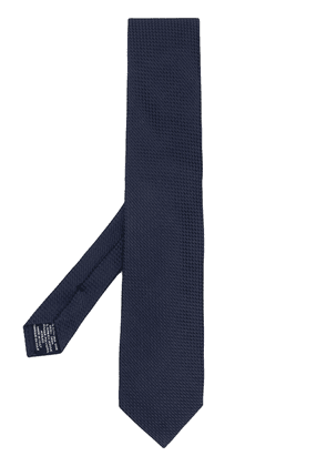 Tom Ford textured tie - Blue