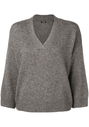 Aspesi V-neck jumper - Grey