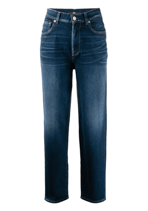 7 For All Mankind straight-leg jeans - Blue