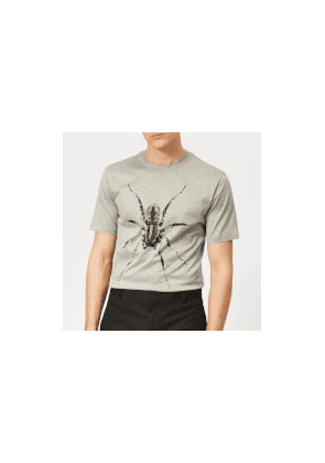 Lanvin Men's Spider Print T-Shirt - Grey - XL - Grey
