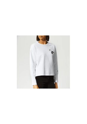 c7ea1eb5 Champion X WOOD WOOD Women's Lucy Crew Neck Sweatshirt - White - L - White