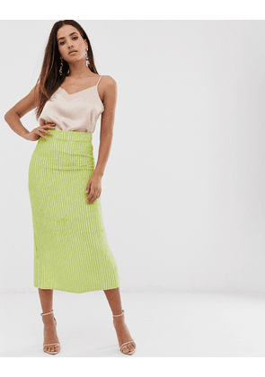 74fc8a1362be ASOS EDITION floral embellished midi pencil skirt | MILANSTYLE.COM