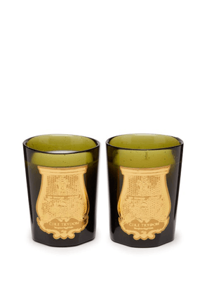 Cire Trudon - Revolutionary Duet Scented Candles Set - Green