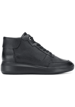 Geox wedge lace-up sneakers - Black