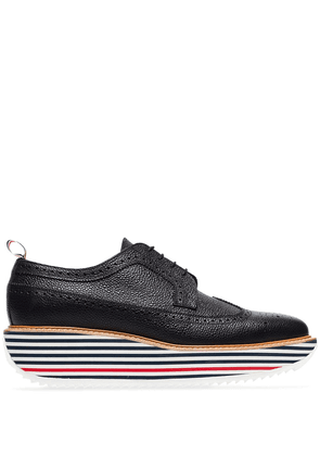 Thom Browne chunky sole shoes - Black
