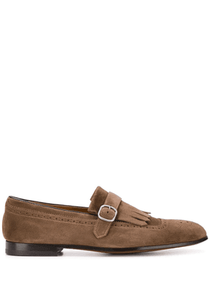 Doucal's fringed loafers - Neutrals