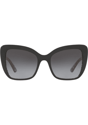 Dolce & Gabbana Eyewear oversized sunglasses - Black