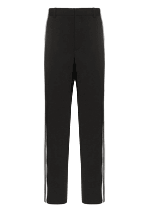Balenciaga side stripe trousers - Black