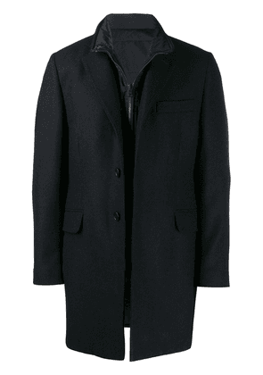 Fay classic coat with padded inner - Blue