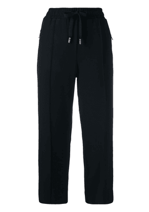 Dolce & Gabbana cropped track trousers - Black