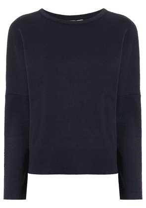 Egrey long sleeved knitted top - Black