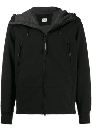 CP Company hooded zip-up jacket - Black