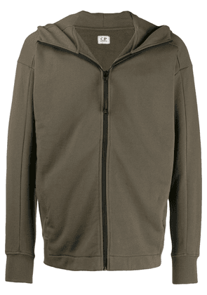 CP Company googles detail hooded jacket - Green