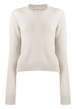 Bottega Veneta round neck jumper - Neutrals