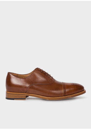 Men's Tan Parma Calf Leather 'Berty' Brogues