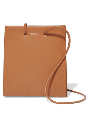 MEDEA - Prima Short Small Leather Tote - Brown