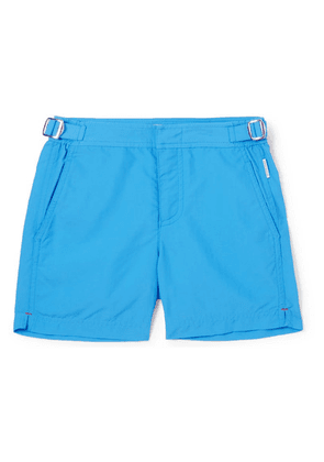 Orlebar Brown Kids - Russell Shell Swim Shorts - Blue