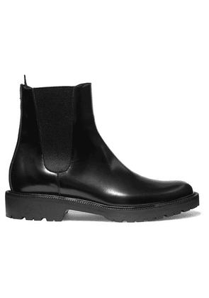 Dries Van Noten - Glossed-leather Chelsea Boots - Black