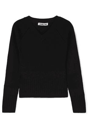 McQ Alexander McQueen - Ribbed-knit Sweater - Black
