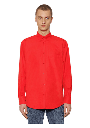 Loose Fit Cotton Poplin Shirt