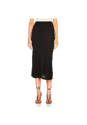 AG Adriano Goldschmied Peary Skirt in Black