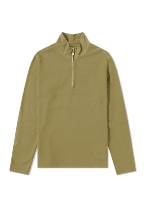 Albam 1/4 Zip Jersey Pullover Dired Herb