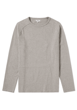Arpenteur Long Sleeve Zef Tee Heather Grey