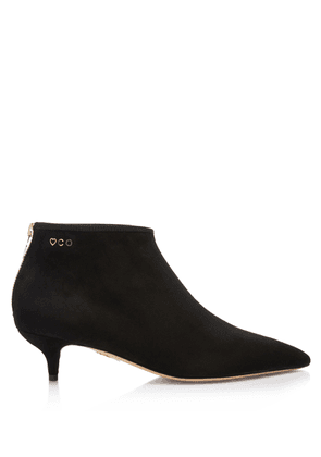 Charlotte Olympia Boots Women - SILVIA 40 BLACK Suede 36