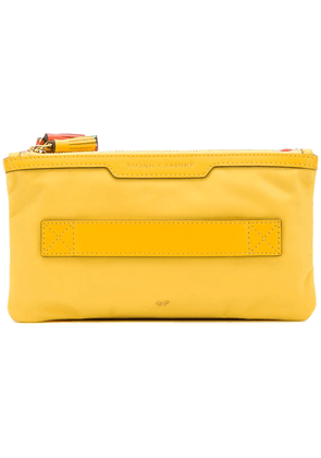 Anya Hindmarch Filing Cabinet Pouch - Yellow