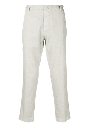 Dell'oglio tailored fitted trousers - Grey