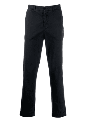 Aspesi slim-fit tailored trousers - Blue