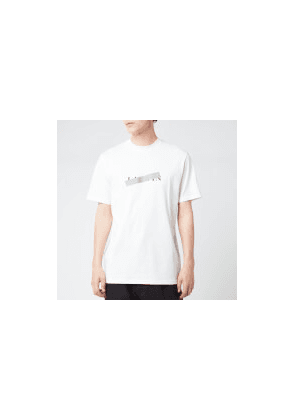 Lanvin Men's Lanvin Barre Slim Fit T-Shirt - White - S - White