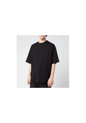 Lanvin Men's Oversized Barre Logo T-Shirt - Black - S - Black