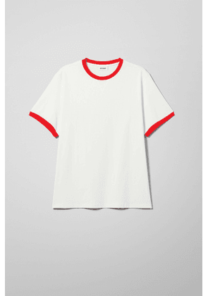 Dylan Contrast T-shirt - White