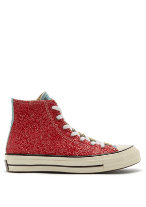 Converse X Jw Anderson - Chuck Taylor All Star 70 Glitter Trainers - Mens - Multi