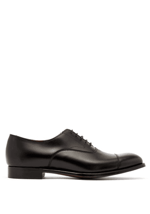 Cheaney - Alfredo Leather Oxford Shoes - Mens - Black