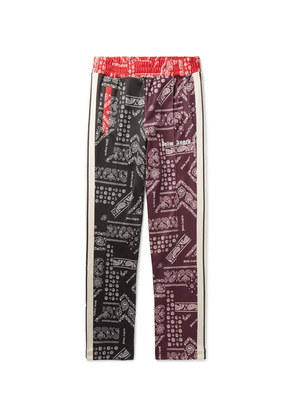 Palm Angels - Slim-fit Tapered Printed Jersey Sweatpants - Multi