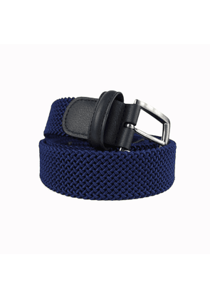 Andersons Woven Textile Belt - Royal Blue