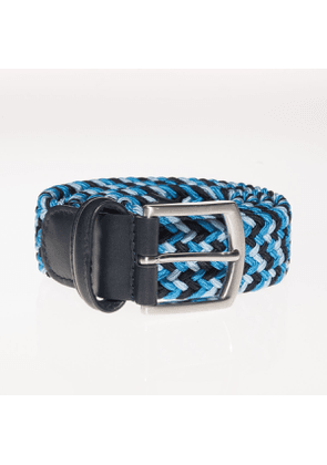 Andersons Woven Textile Belt - Shades of Blue