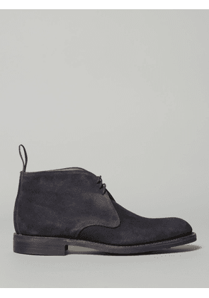 Cheaney Jackie Navy Chukka Boot (Suede)