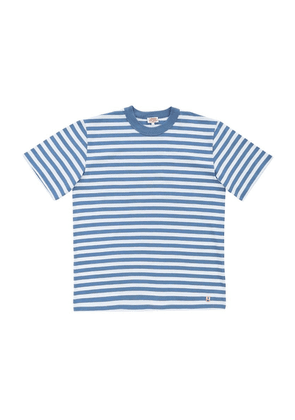 Armor-Lux Heritage T-Shirt - Moody Blue/Blanc