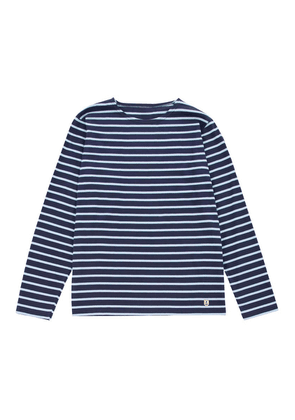 Armor-Lux Long Sleeve Sailor Shirt - Navy/Layette