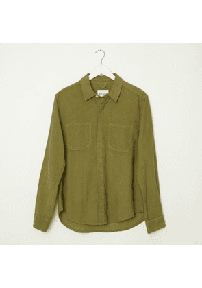 Albam Cord Town Olive Shirt
