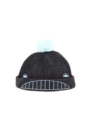 Béton Ciré Kids Denim Whale Hat