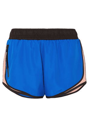 P.E NATION - Sprint Vision Color-block Shell Shorts - Blue
