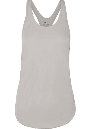 Nike - City Sleek Jersey Tank - Gray