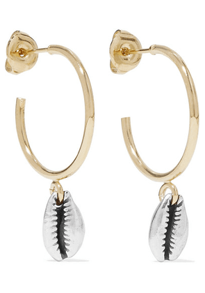 Isabel Marant - Amer Gold And Silver-tone Hoop Earrings - one size