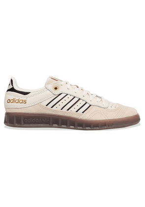 adidas Originals - Handball Top Leather And Suede Sneakers - Off-white