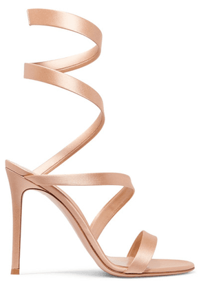 Gianvito Rossi - Opera 100 Satin Sandals - IT37.5